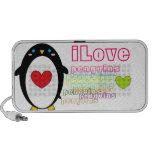 Pingüinos de ILove iPod Altavoz