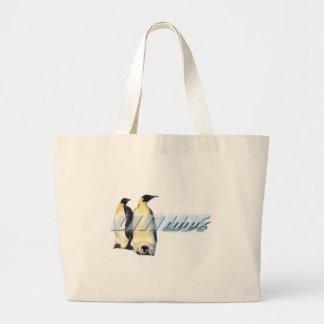 Pingüinos de Linux Bolsa