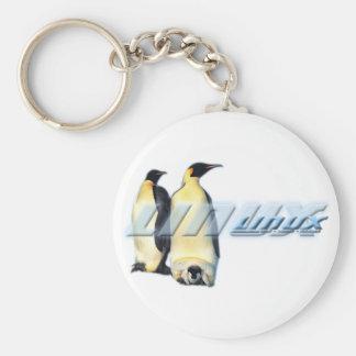 Pingüinos de Linux Llaveros