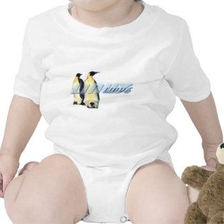 Pingüinos de Linux Traje De Bebé