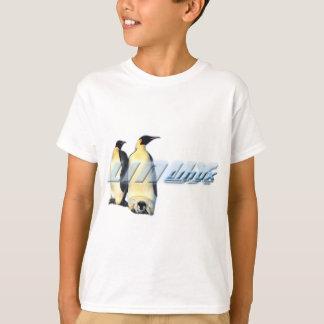 Pingüinos de Linux Playera