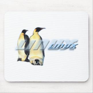 Pingüinos de Linux Alfombrillas De Ratón