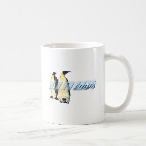 Pingüinos de Linux Taza De Café