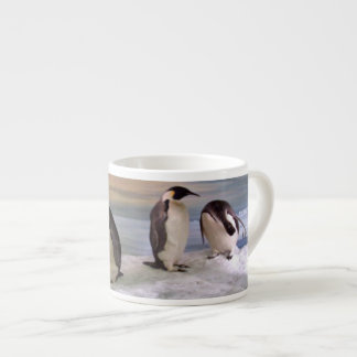 Pingüinos de rey taza espresso