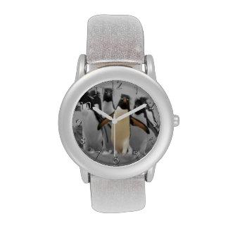 Pingüinos de Rockhopper Relojes De Mano