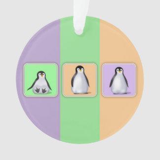 Pingüinos del bebé
