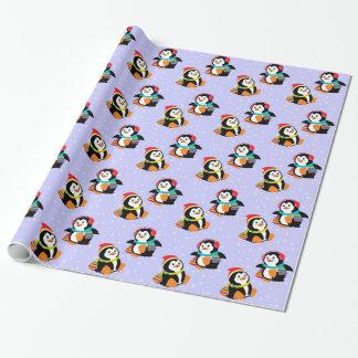 pingüinos del dibujo animado