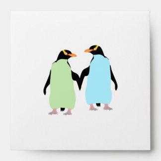 Pingüinos del orgullo gay que llevan a cabo las sobre