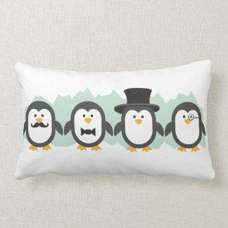 Pingüinos elegantes cojines