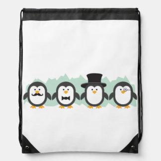 Pingüinos elegantes mochilas