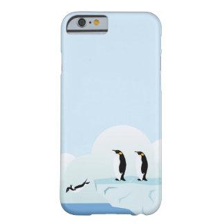 Pingüinos Funda De iPhone 6 Barely There