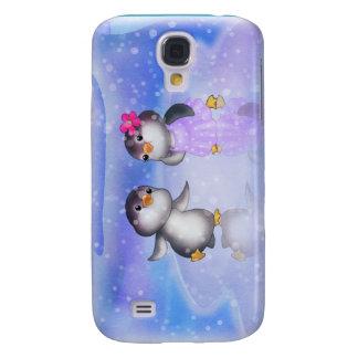 ¡Pingüinos! Funda Samsung S4