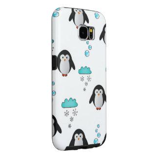 pingüinos lindos funda samsung galaxy s6