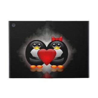 Pingüinos lindos iPad mini protectores