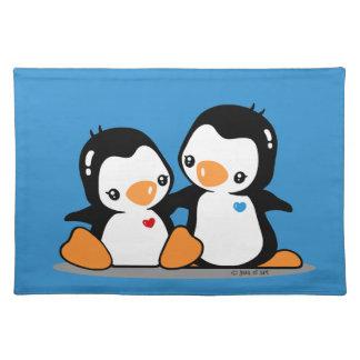 Pingüinos Mantel