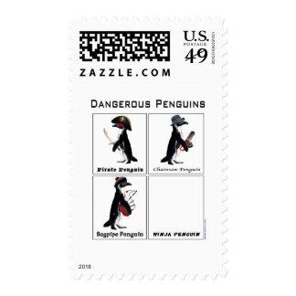 pingüinos peligrosos franqueo