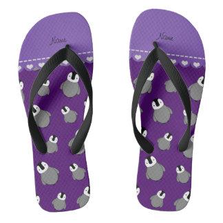 Pingüinos púrpuras conocidos personalizados del