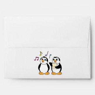 Pingüinos que cantan sobres