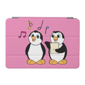 Pingüinos que cantan un dúo con las notas cover de iPad mini