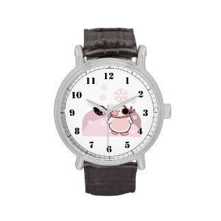 pingüinos reloj
