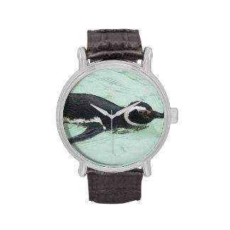 Pingüinos Relojes De Mano
