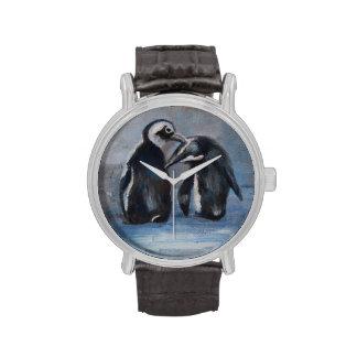Pingüinos Reloj De Mano