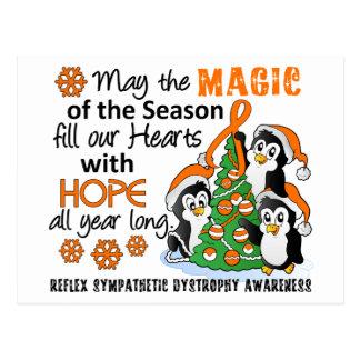 Pingüinos RSD del navidad Postales