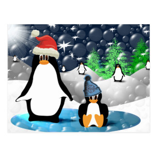 Pingüinos Tarjetas Postales