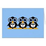 pingüinos tarjetón