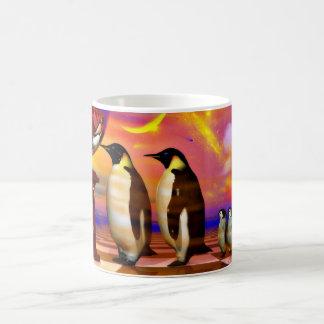 Pingüinos Taza Clásica