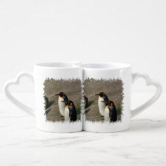 Pingüinos Tazas Para Enamorados