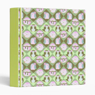 """Pingüinos verdes en colores pastel lindos carpeta 1"""""""