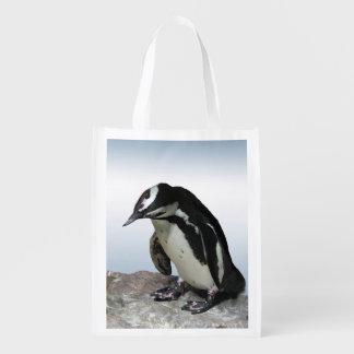Pingüinos Bolsa Reutilizable