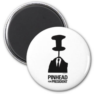 Pinhead For President 2 Inch Round Magnet