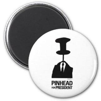 Pinhead For President Magnet