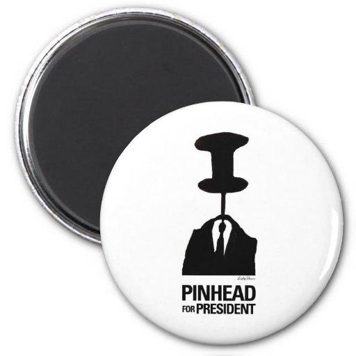 Pinhead For President Refrigerator Magnets