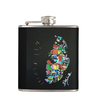 Pinhead Synesthesia Painting Flask