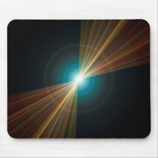 Pinhole Lens Flare Mouse Pad