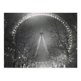 Pinhole London eye Postcard