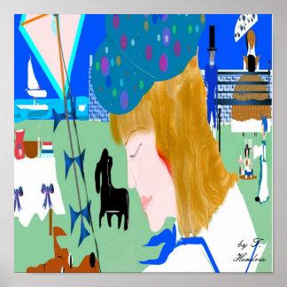pinikieCard, by T. Hendrix Poster