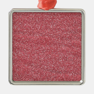 pink1 PINK BEE MINE GLITTER TEXTURE BACKGROUND TEM Christmas Ornament