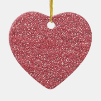 pink1 PINK BEE MINE GLITTER TEXTURE BACKGROUND TEM Christmas Tree Ornaments