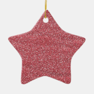 pink1 PINK BEE MINE GLITTER TEXTURE BACKGROUND TEM Christmas Tree Ornament