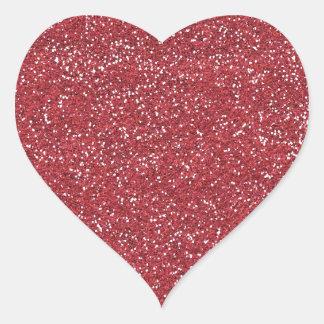 pink2 DARK PINK BEE MINE GLITTER TEXTURE BACKGROUN Heart Sticker