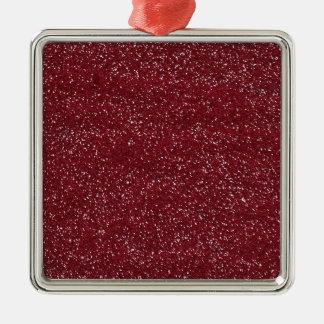 pink3 REDDISH PINK BEE MINE  GLITTER TEXTURE BACKG Ornaments