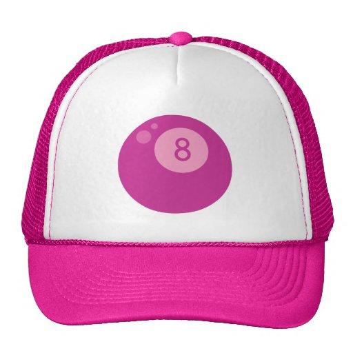 pink8ball gorro de camionero