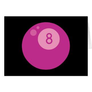 pink8ball tarjetas