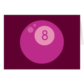 pink8ball tarjeton