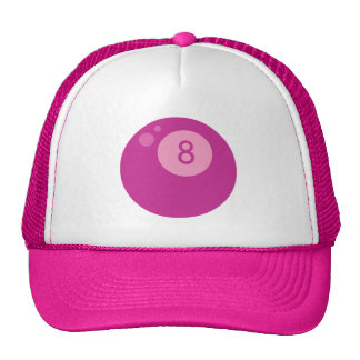 pink8ball trucker hat