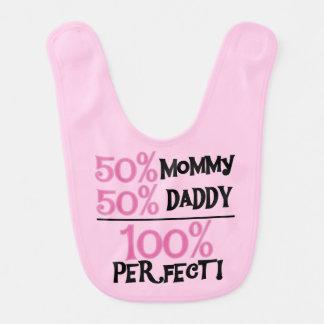 Pink 100 Percent Perfect Bib